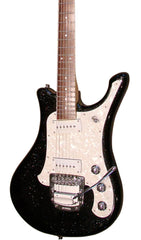 Eastwood Guitars SGV800 Metallic Black Sparkle Featured