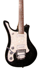 Eastwood Guitars SGV800 M. Black Sparkle LH Featured