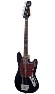 Eastwood Guitars Warren Ellis Bass Black Angled