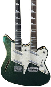 Eastwood Guitars Surfcaster 12/6 Metallic Green Featured