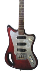 Eastwood Guitars Eastwood T-60 GC - Deposit Dark Cherry Featured