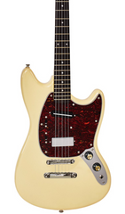 Eastwood Guitars Warren Ellis 5 Vintage Cream Featured