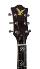 Eastwood Guitars Eastwood Tiger Guitar Walnut Head Stock