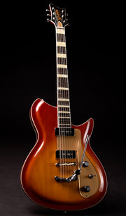 Eastwood Guitars Rivolta Combinata XVII Autunno Burst Full Front
