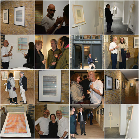 Repetition pop-up: photos of private view and exhibition