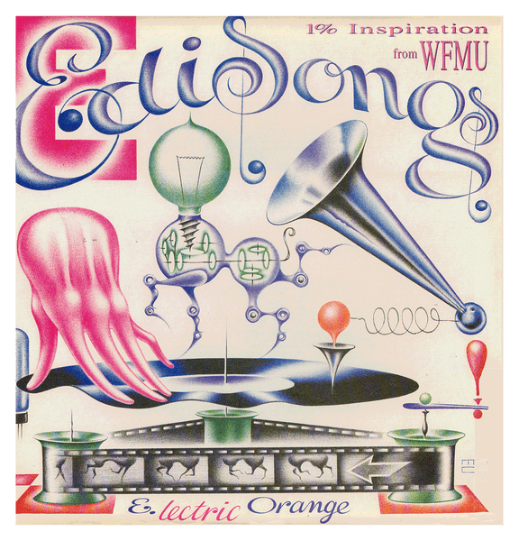 Edisongs (1% Inspiration From WFMU), A Tribute To Thomas Alva Edison (LP)