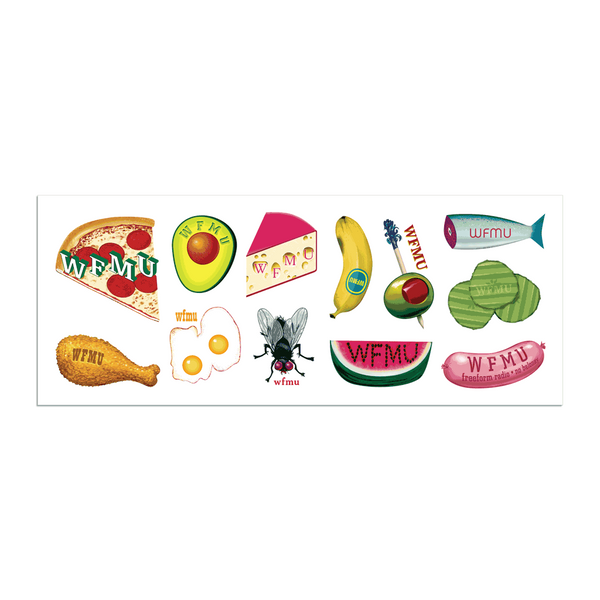 Snacks Sticker Sheet