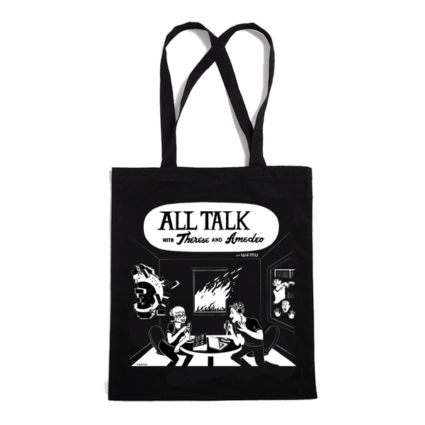 Therese and Amedeo's All Talk Tote