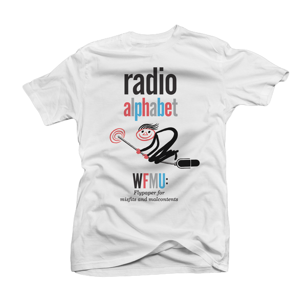 WFMU Radio Alphabet T-Shirt