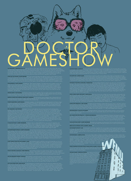 Dr. Gameshow's Winning Gameshows Infographic Poster