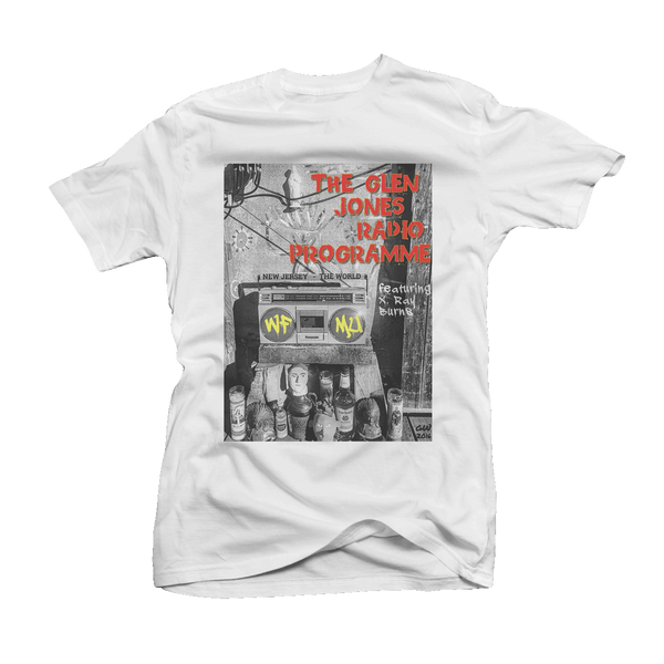 The Glen Jones featuring X-Ray Burns Boombox T-Shirt