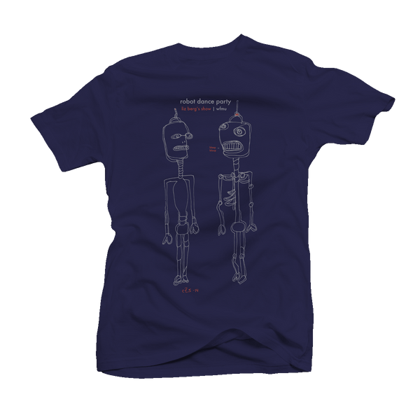 Liz Berg Robot Dance Party T-Shirt