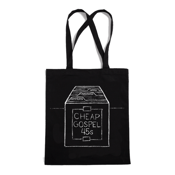 Sinner's Crossroads Cheap Gospel 45s Tote bag