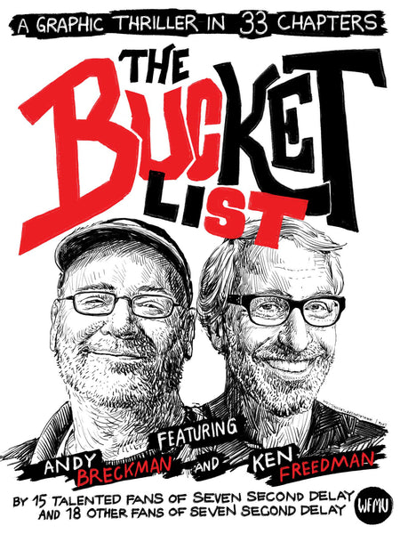 Seven Second Delay's Bucket List Adventure Graphic Novel