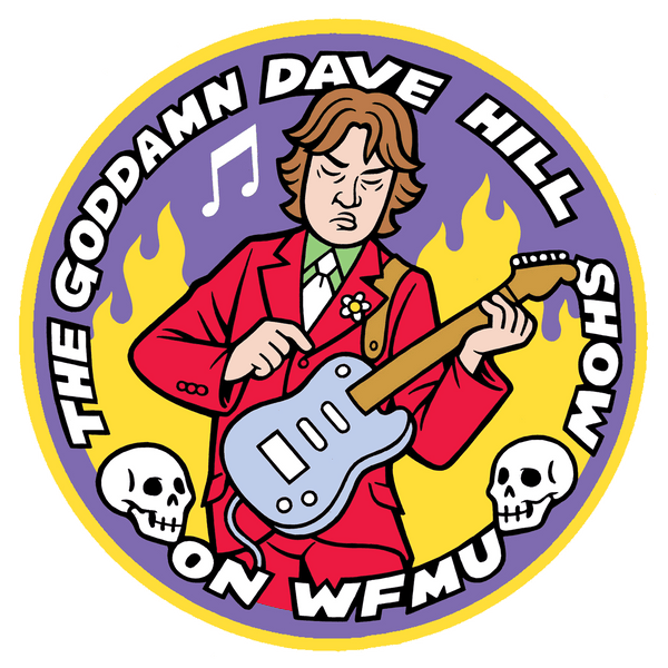 The Goddamn Dave Hill Show Incredible 3-Patch Set