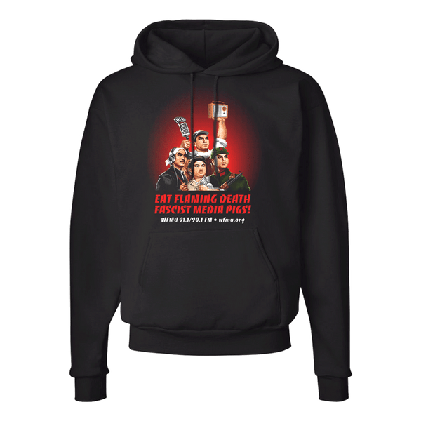 Eat Flaming Death Pullover Hoodie