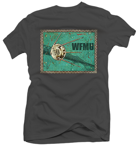 Sputnik 60 T-Shirt with Art by Jon Langford (Youth 6/7) - Only 1 left!