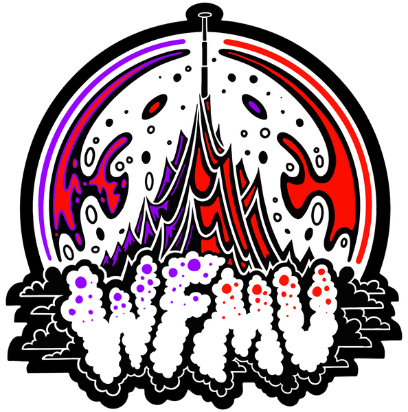 BACK IN STOCK! The WFMU Mountain MAGNET