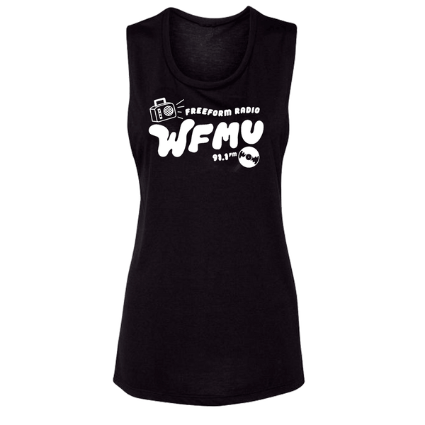 Limited Run! Retro Glam Black - Women's Muscle T-Shirt