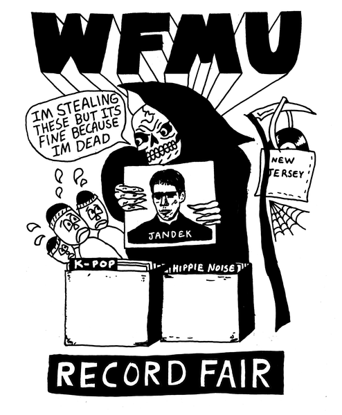 Record Fair Reaper T-Shirt - Only XL and XXL Left