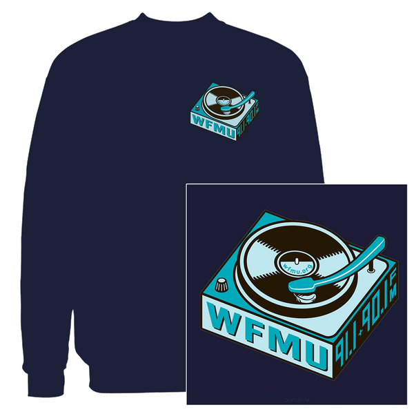 WFMU Turntable Sweatshirt