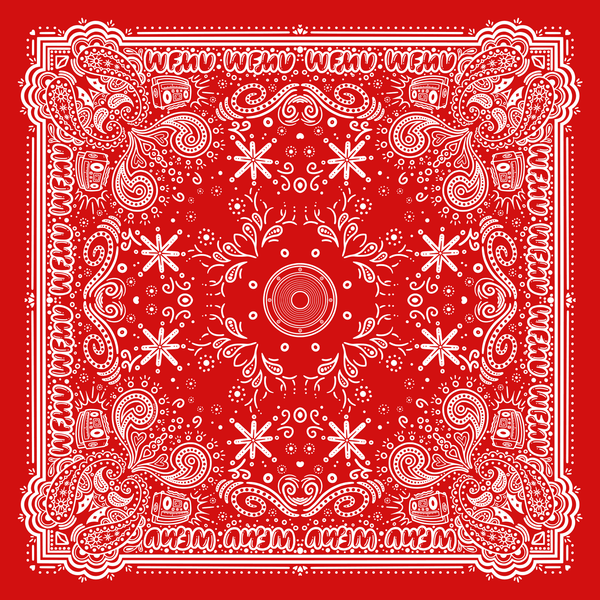 WFMU Bandana - Available in 8 Colors!