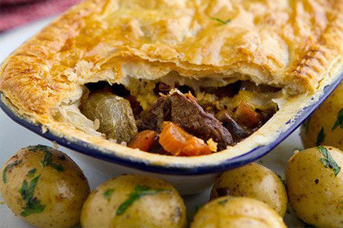 COOKING BEEF BOURGUIGNON PIE WITH SIMON RIMMER