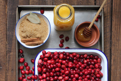 CRANBERRY SAUCE FROM A CHEESEMONGER'S DAUGHTER
