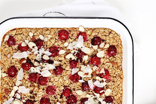 ALMOND BAKED OATMEAL