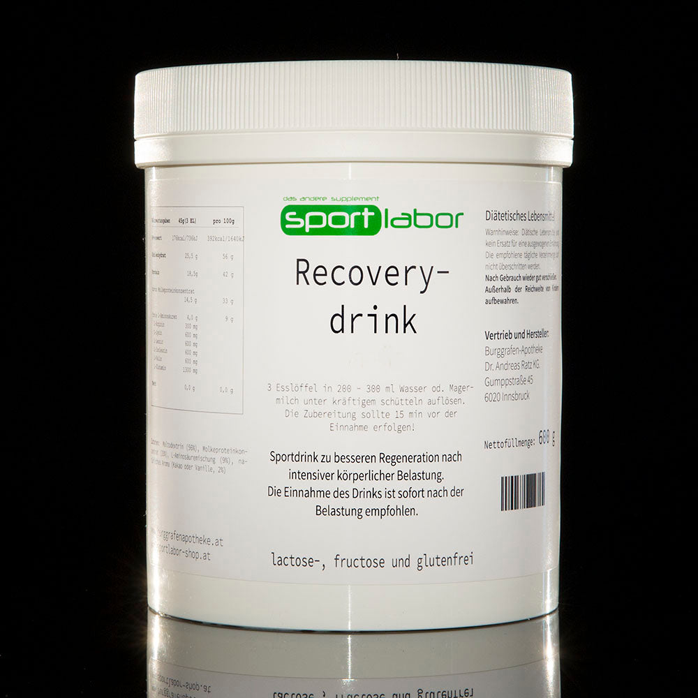 Recoverydrink vs. Proteindrink S-CARB