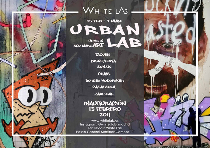Raul Casassola en URBAN LAB - come in and make ̶A̶r̶t̶