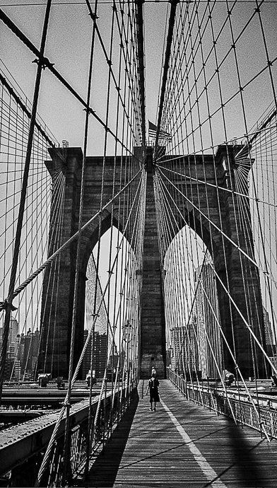 [ #NewYorkBetchesMobileCall ] Brooklyn Bridge to Manhattan.