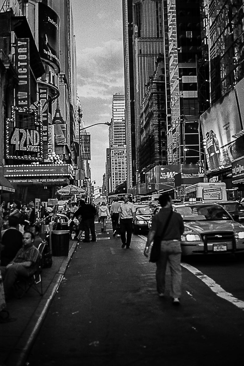 42 ND Street to Broadway Theater.