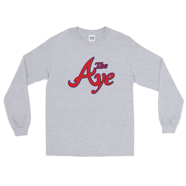 "Ode to ""The Aye"" Unisex L/S Tee"
