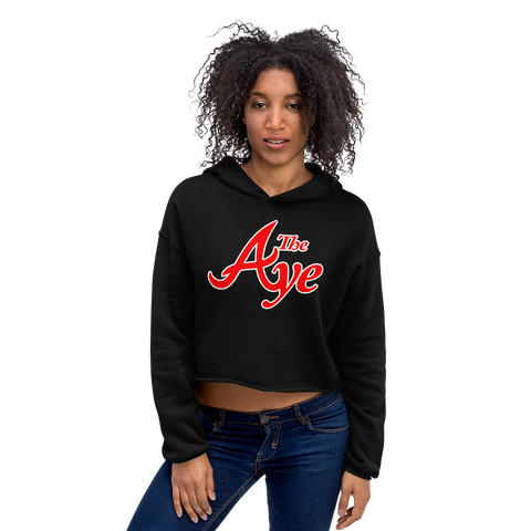"Ode to ""The Aye"" Crop Hoodie"