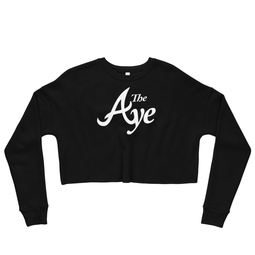 "Ode to ""The Aye"" Crop Sweatshirt"