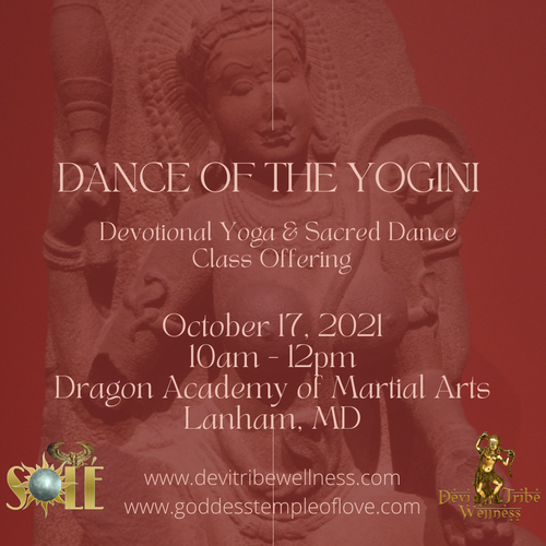 Embodying The Goddess Interactive Lecture LIVE in Dallas