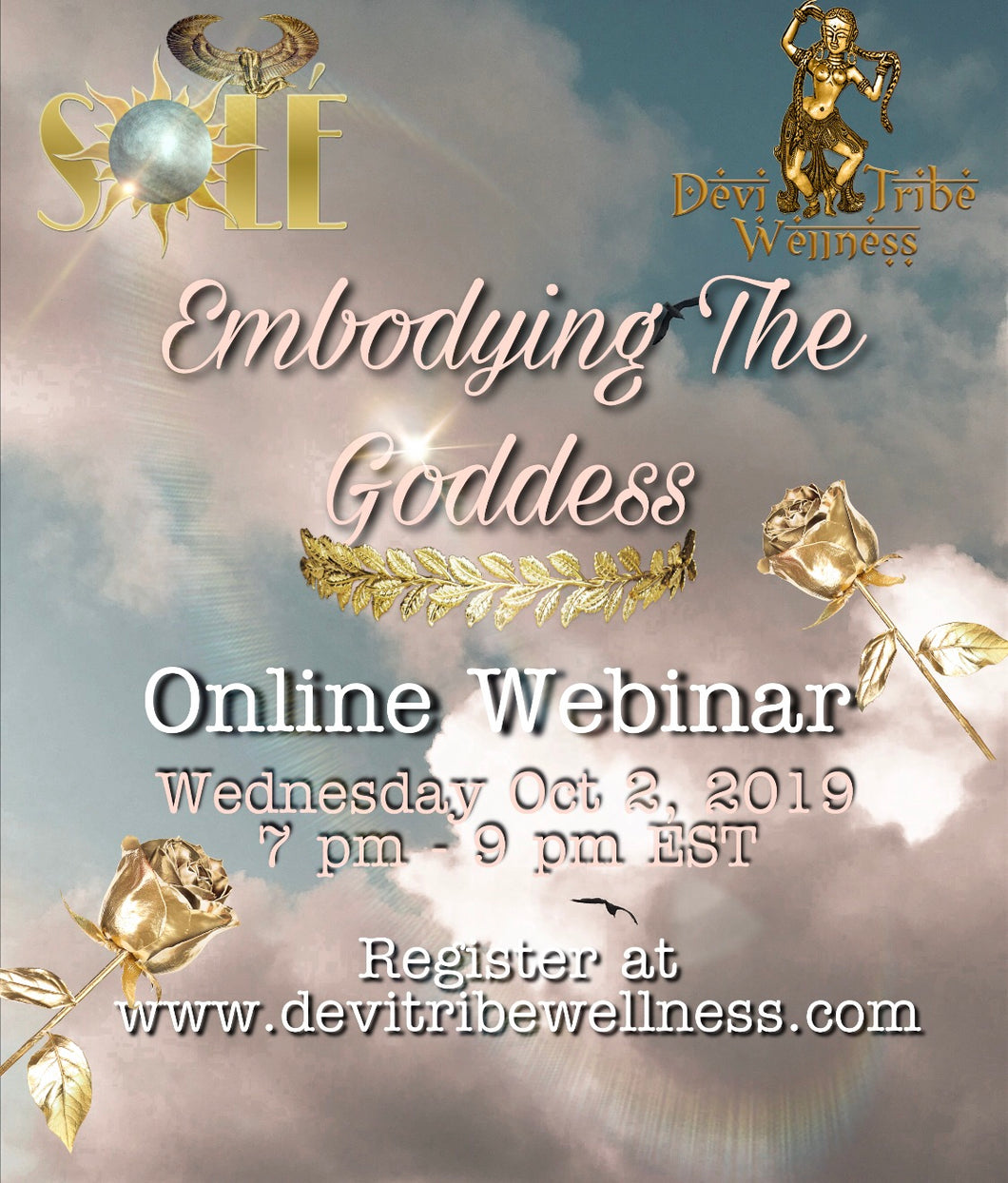 Recording: Embodying The Goddess - Online Webinar