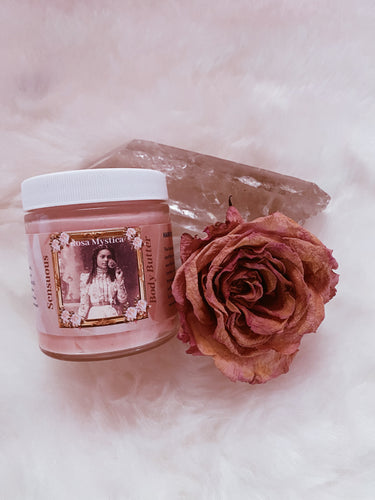 Rosa Mystica Whipped Herbal Infused Body Butter