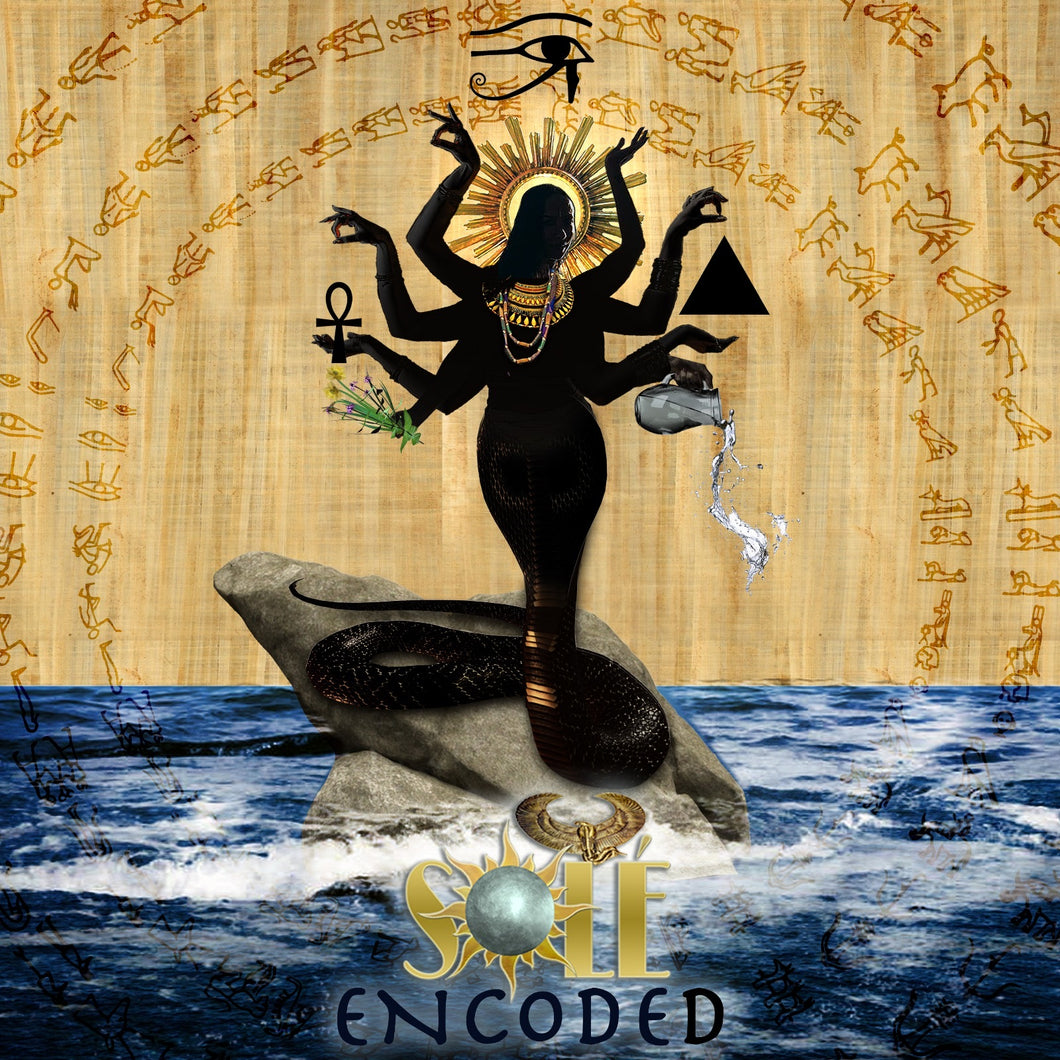 "Limited Run Autographed CD ""Encoded"" by Solé"