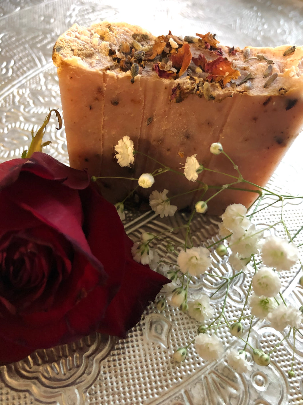 🌺🥭Garden of Paradise Hand Made Body Soap (Double Pack - 2 Bars)