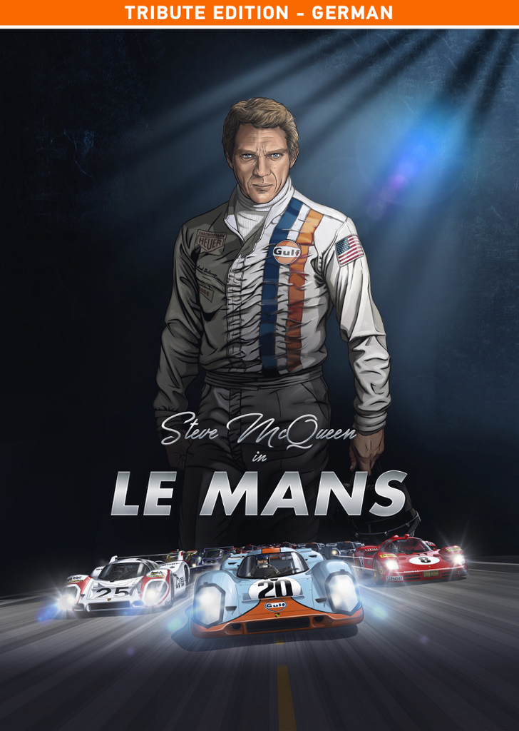 Steve McQueen in Le Mans (German version) 15% off