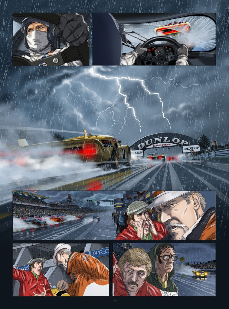 Steve McQueen in Le Mans (french version part I)
