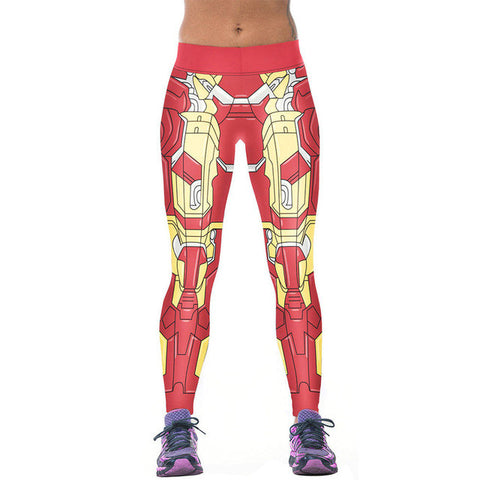 Digitally Printed Yoga Workout Leggings-theyogasuite