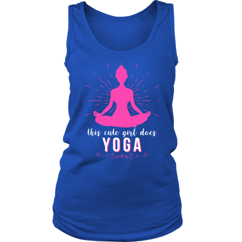 """This Cute Girl Does Yoga"" Shirt-theyogasuite"