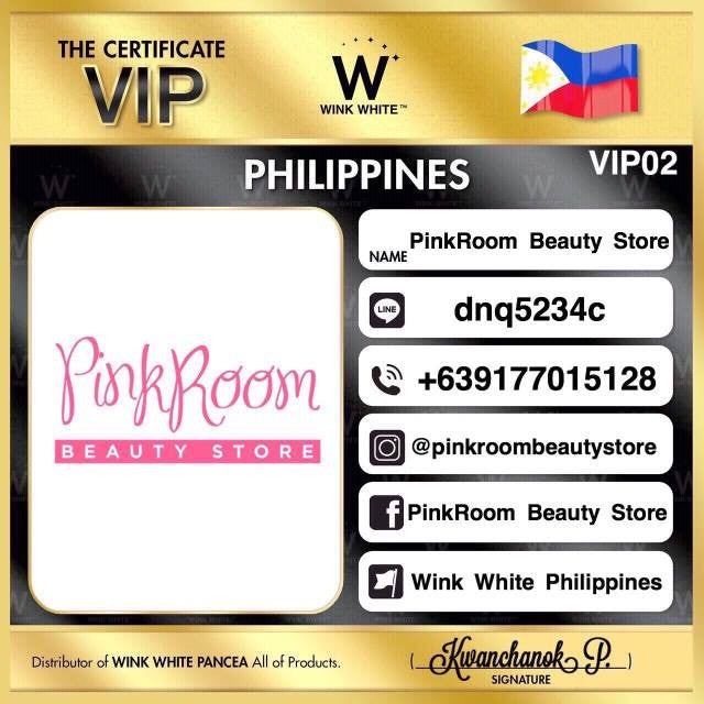 Wink White Pancea Official Dealer in the Philippines