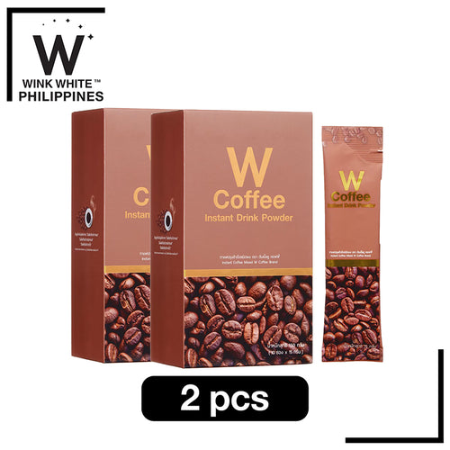 W Coffee, 2 boxes