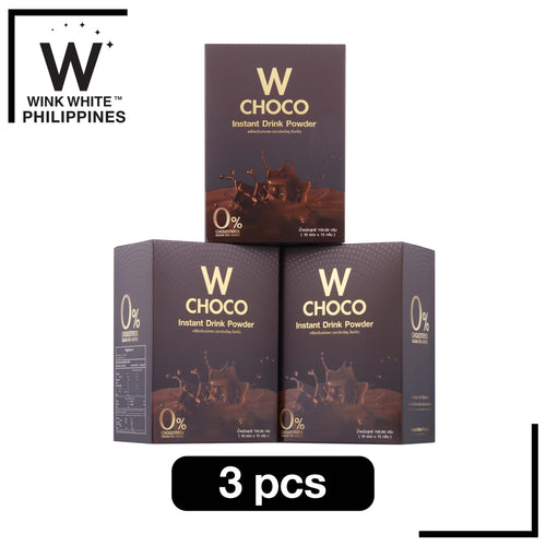 W Choco Instant Powder, 3 boxes