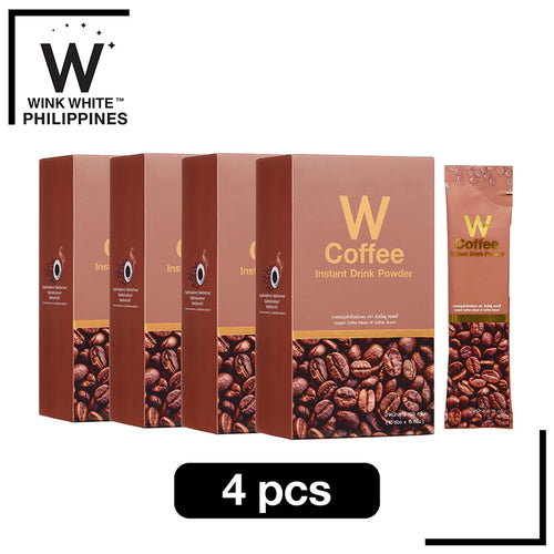 W Coffee, 4 boxes