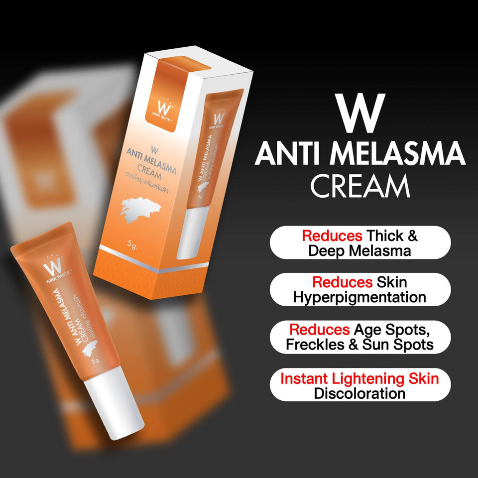 5 W Cream + freebies!